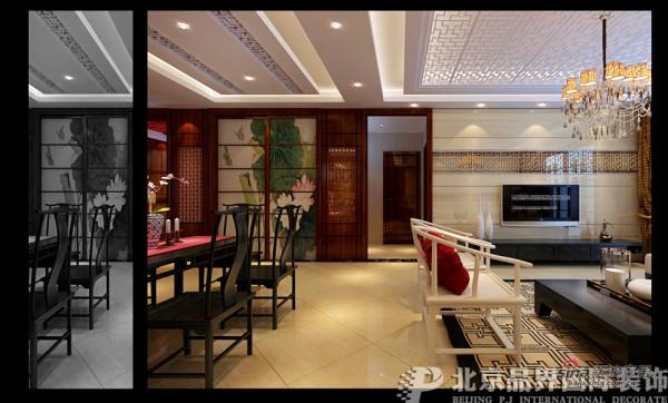 卢浮宫馆-140平-新中式风格