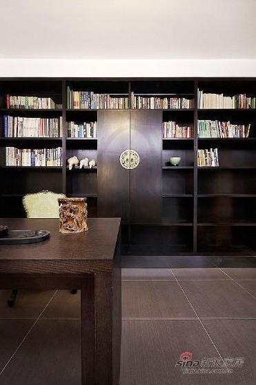简约 复式 书房图片来自用户2738813661在一套200平方简约低调奢华混搭四居室复式55的分享