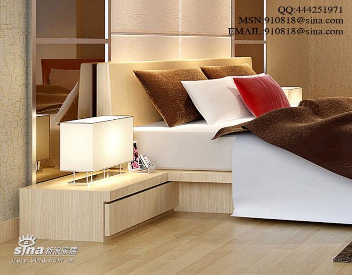 简约 四居 卧室图片来自用户2557979841在现代风格之金汇豪庭42的分享