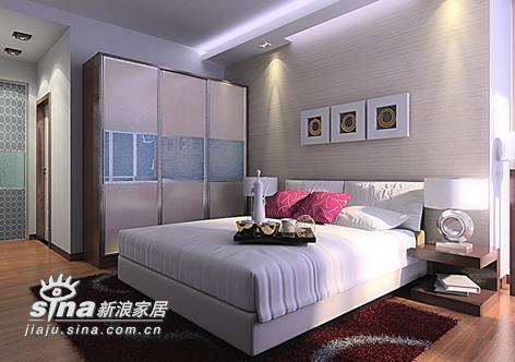 简约 四居 卧室图片来自用户2738829145在简约不简单53的分享