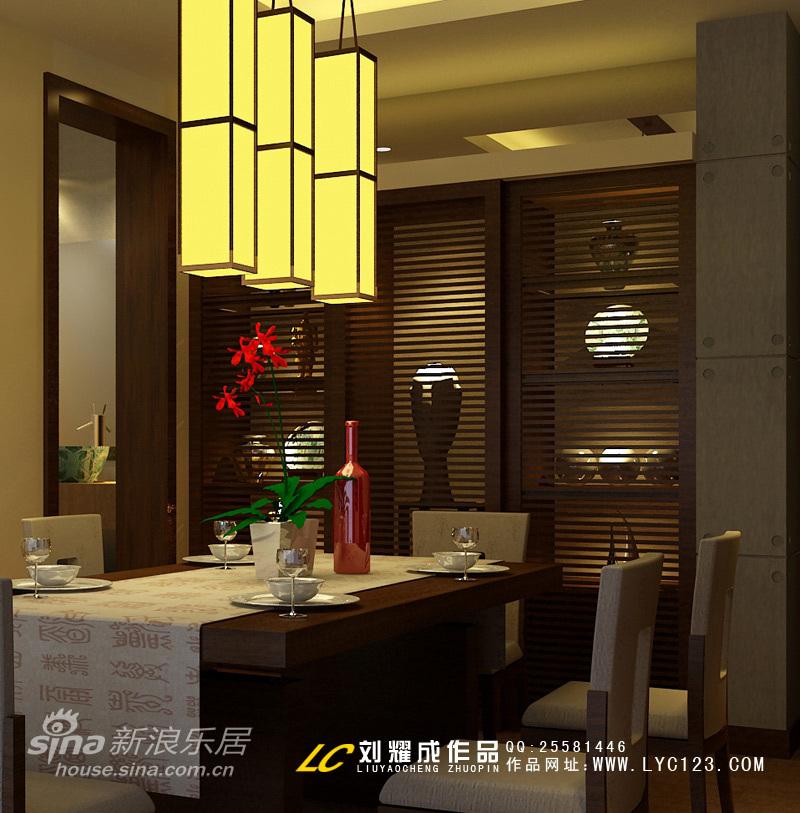中式 三居 餐厅图片来自用户2748509701在新东方主义风格83的分享
