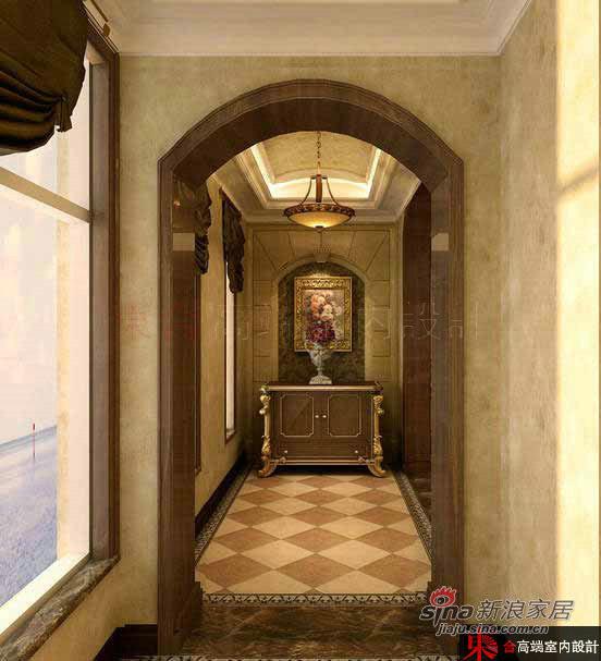 欧式 别墅 楼梯图片来自用户2772873991在200平低调奢华欧式风62的分享