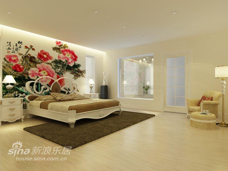 欧式 别墅 卧室图片来自用户2772856065在色彩诠释完美达观别墅48的分享