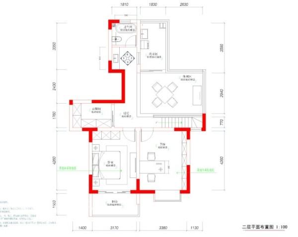 福星新城设计图1层