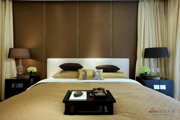 中式 别墅 卧室图片来自用户1907659705在【高清】东方禅意——方直君御企业会所85的分享