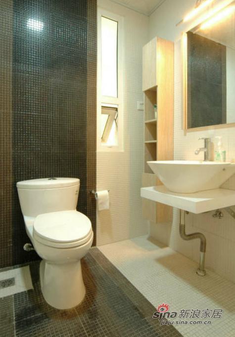 简约 三居 卫生间图片来自用户2737786973在10万打造96平现代简约婚房34的分享
