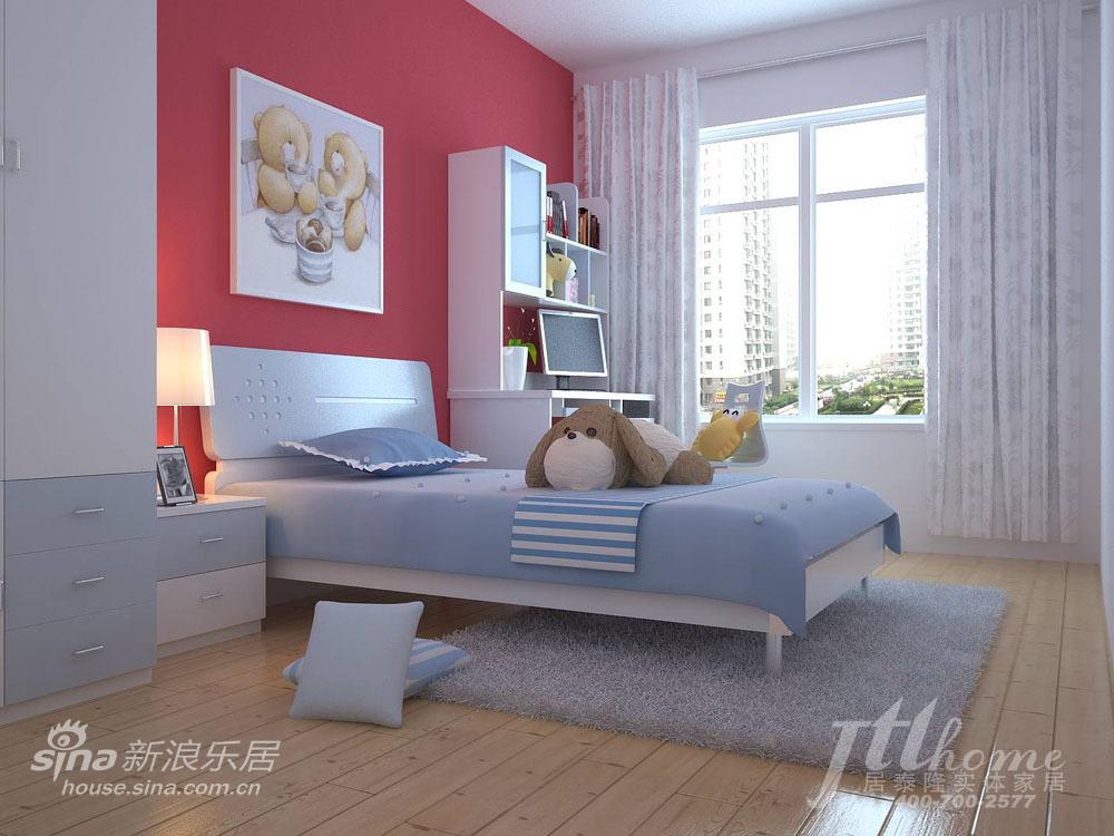 简约 三居 儿童房图片来自用户2557979841在恬静淡雅的家居装饰风格40的分享