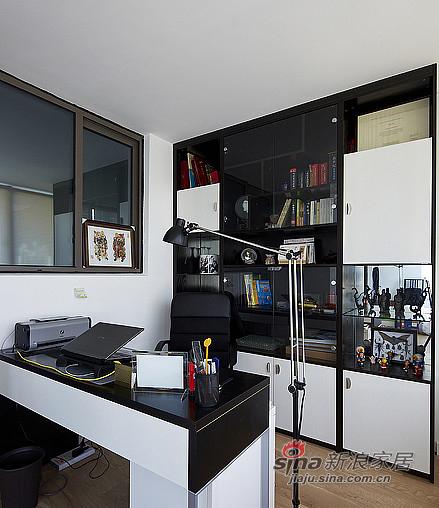 混搭 二居 书房图片来自装修微日记在【高清】92平暖暖宜家简约风格空间57的分享