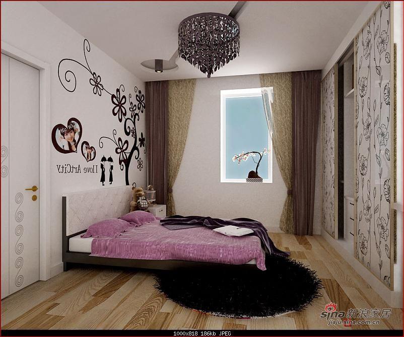 简约 一居 卧室图片来自用户2738820801在5万打造60平米手法独特的后现代风格韵律25的分享