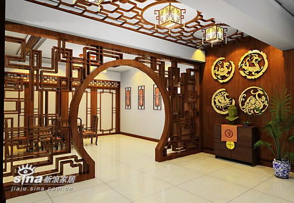 """中式 复式 其他图片来自wulijuan_16在""""欧洲阳光城""""复式结构34的分享"""