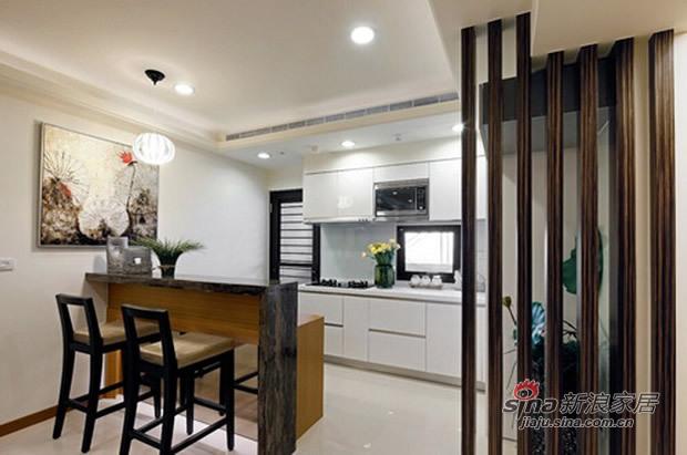 简约 三居 厨房图片来自佰辰生活装饰在7.8万营造100平简约温馨家53的分享