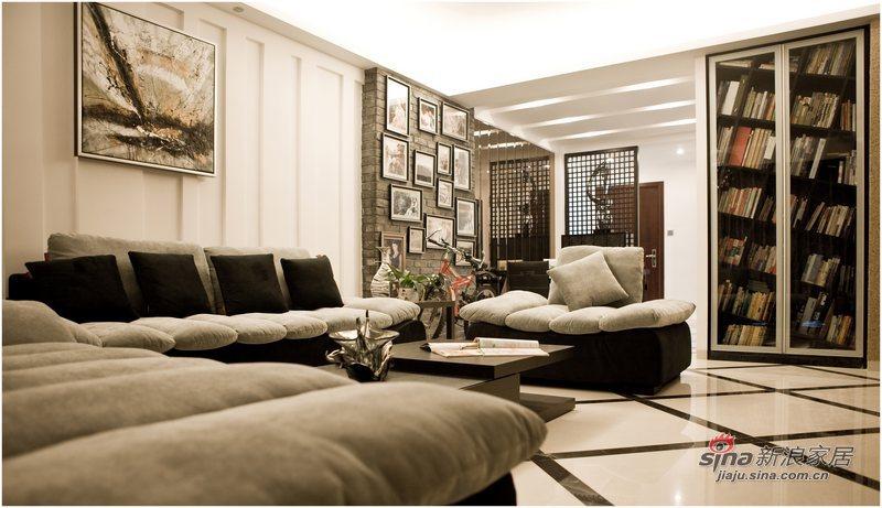 简约 三居 客厅图片来自用户2739081033在黑白印象87的分享