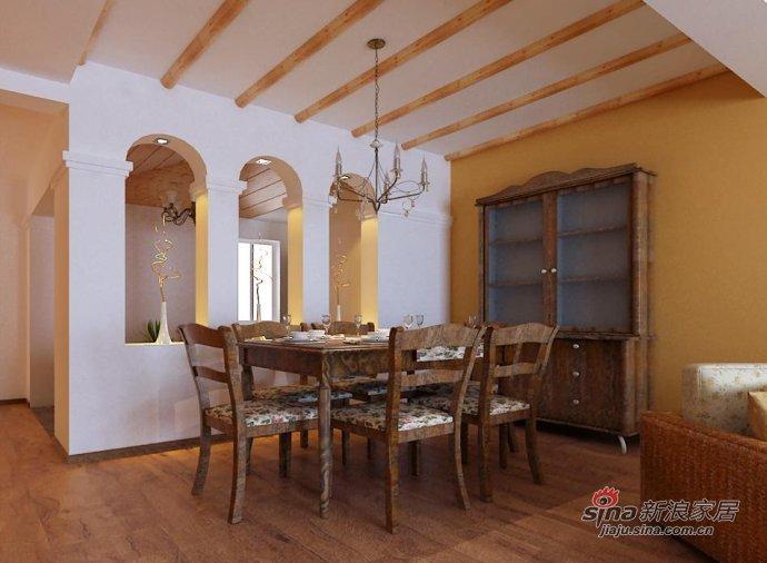 田园 二居 餐厅图片来自用户2737791853在7.6万装老房100平田园二居18的分享