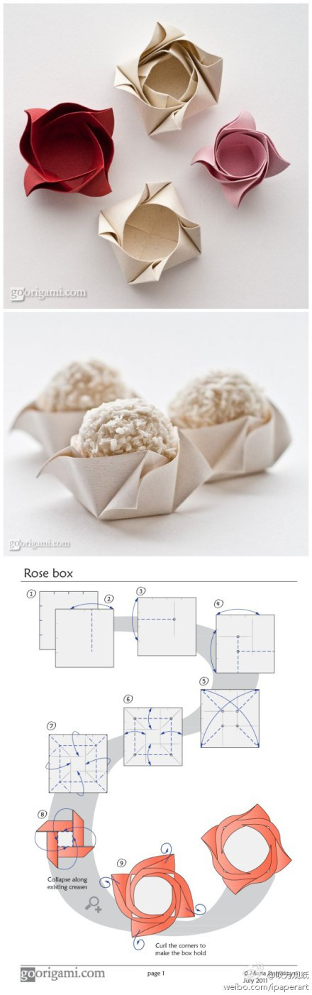 玫瑰盒子~~可以用来装东西喔~~