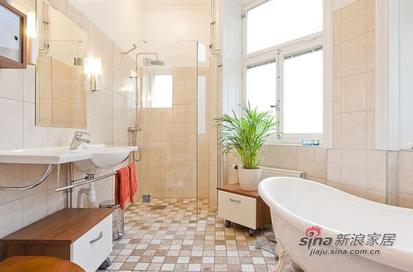 北欧 别墅 卫生间图片来自用户1903515612在150平北欧精致混搭风格公寓 稳重不失温馨79的分享
