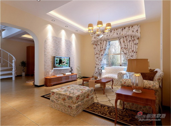 一楼客厅设计