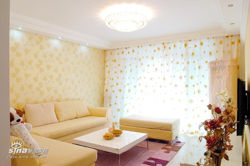 简约 四居 客厅图片来自用户2738845145在知贤装饰四81的分享