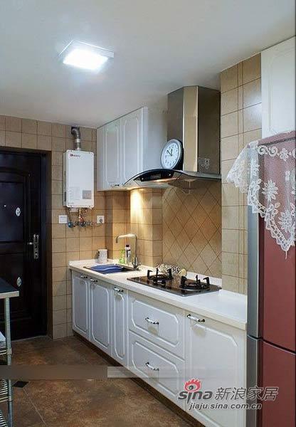 田园 二居 厨房图片来自用户2737791853在6万软装90平田园清新小窝81的分享