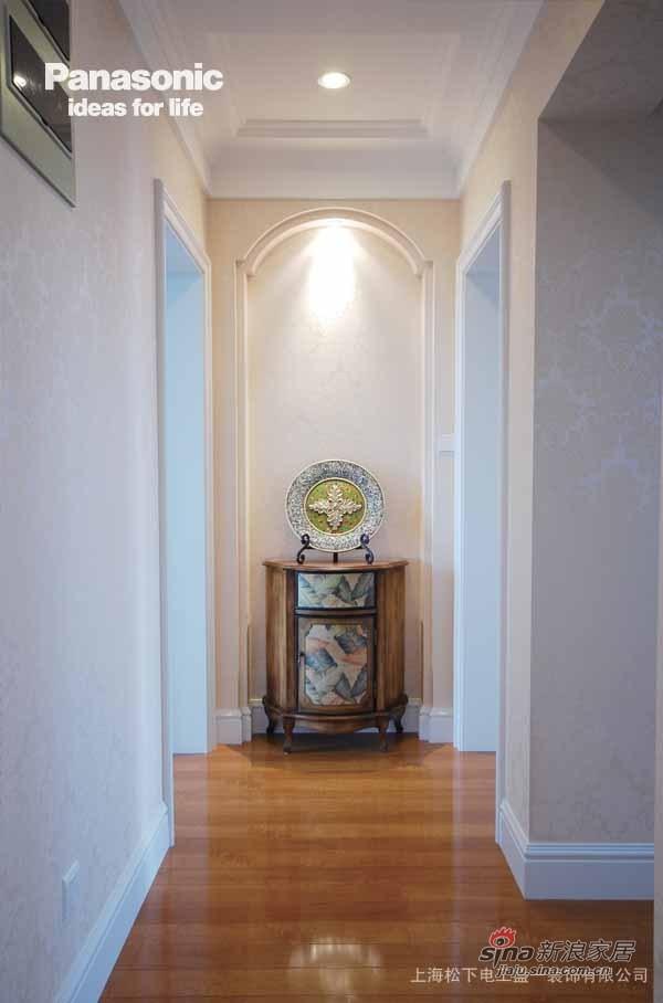 走廊的效果也是设计师的要求