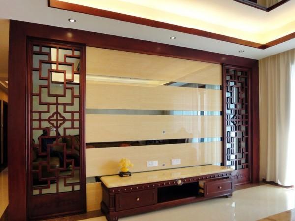 140平米三室两厅新中式风格-中西混搭风