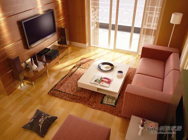 客厅,阳光暖暖的