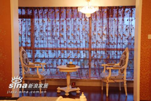 欧式 三居 阳台图片来自用户2746889121在欧式风格样板房(244平米)76的分享