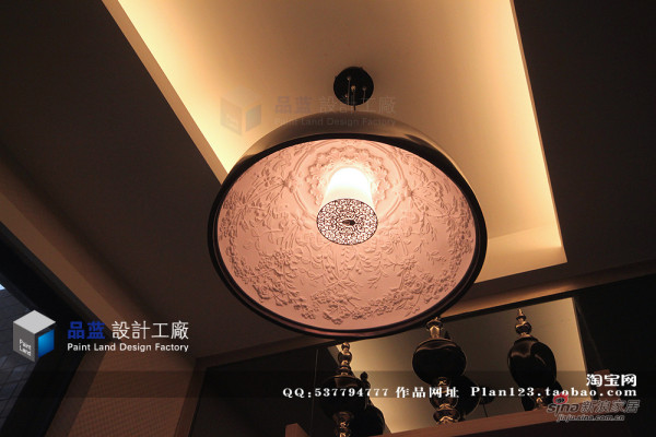 餐厅灯具-实景图