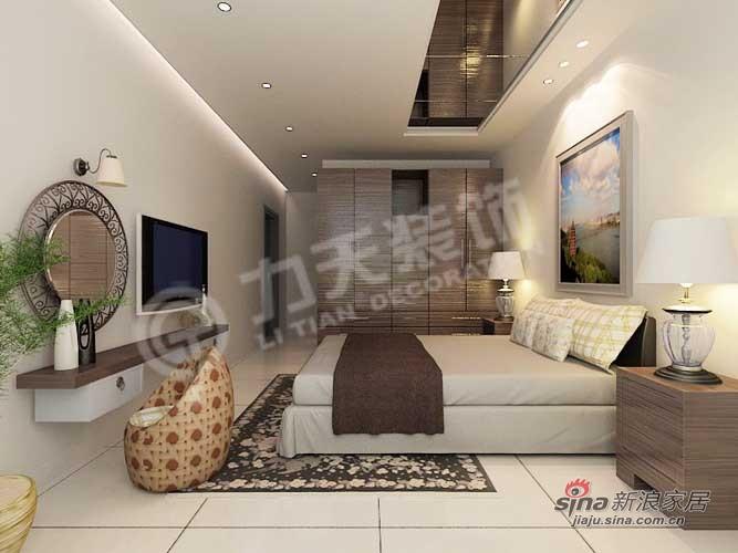 简约 三居 卧室图片来自阳光力天装饰在134平天鹅湖1号91的分享