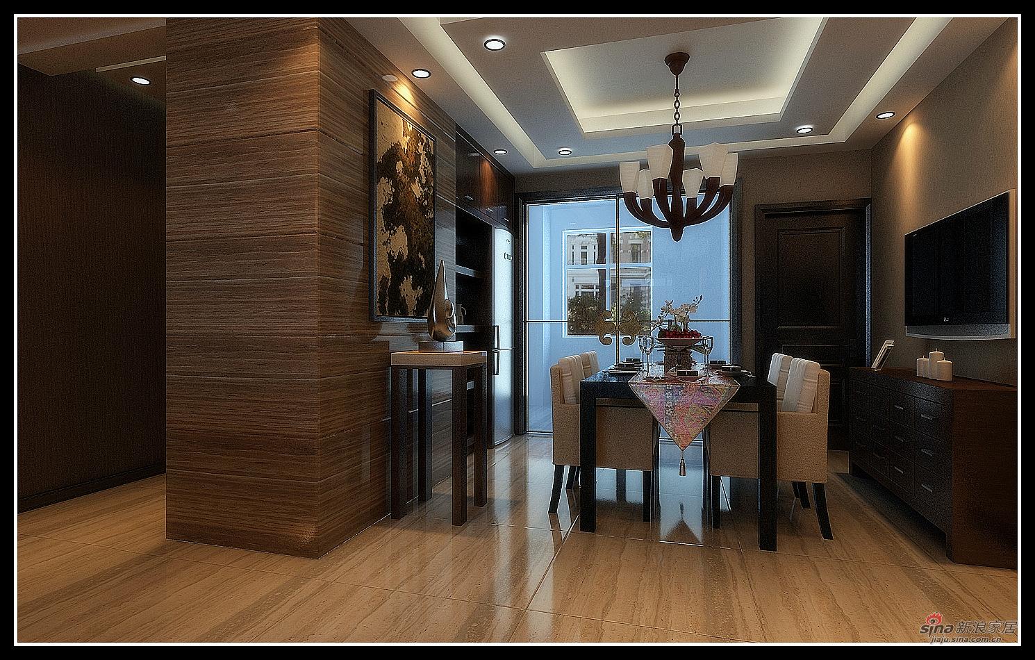 港式 三居 餐厅图片来自用户1907650565在140平金色简欧60的分享