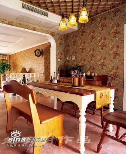 欧式 四居 餐厅图片来自用户2746889121在半岛上的风情60的分享
