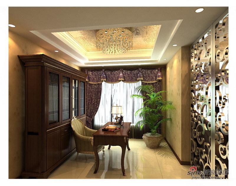 欧式 复式 客厅图片来自用户2745758987在160平沉稳大气简约欧式复式三居13的分享