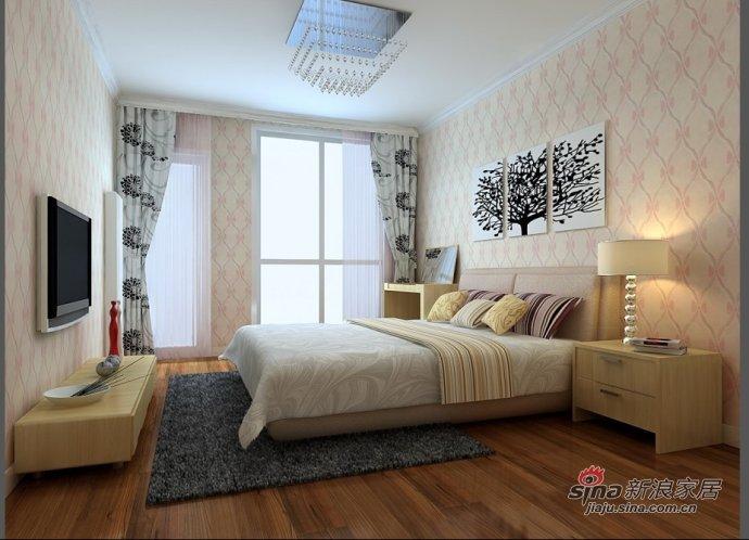 简约 三居 卧室图片来自用户2745807237在120平米简约实用三居室38的分享