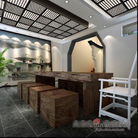中式 三居 餐厅图片来自用户1907659705在创意中式别墅设计78的分享