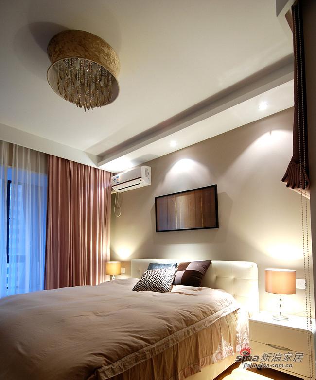 简约 二居 卧室图片来自装修微日记在【高清】10万装96平随性自然简约家12的分享