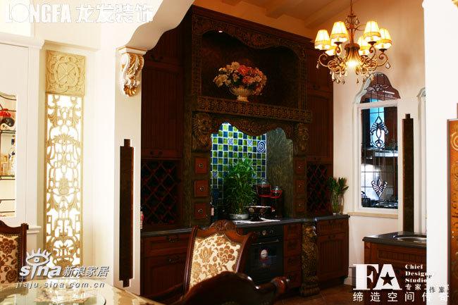 欧式 别墅 厨房图片来自用户2757317061在简欧风格--红勘领世郡63的分享