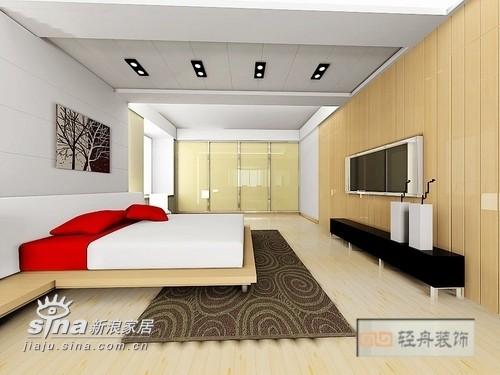 简约 三居 卧室图片来自用户2738820801在康桥尚都140的分享
