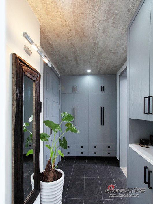 现代 三居 玄关图片来自佰辰生活装饰在8万打造102平现代休闲主义舒居20的分享