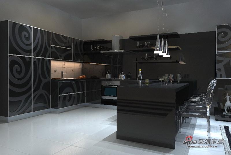 简约 三居 厨房图片来自用户2738845145在12万打造160㎡大气3居室88的分享