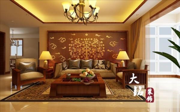中式风格家装设计,中式风格设计效果图