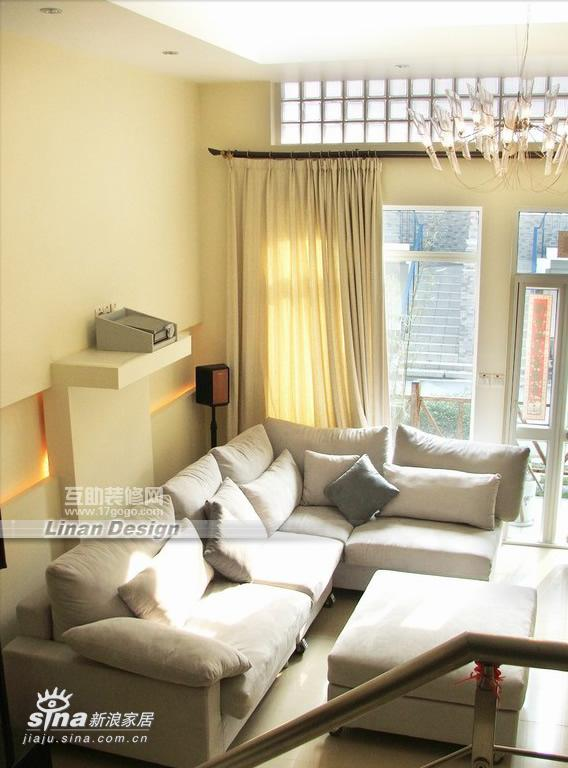 简约 别墅 客厅图片来自用户2738093703在简约风格联体别墅40的分享