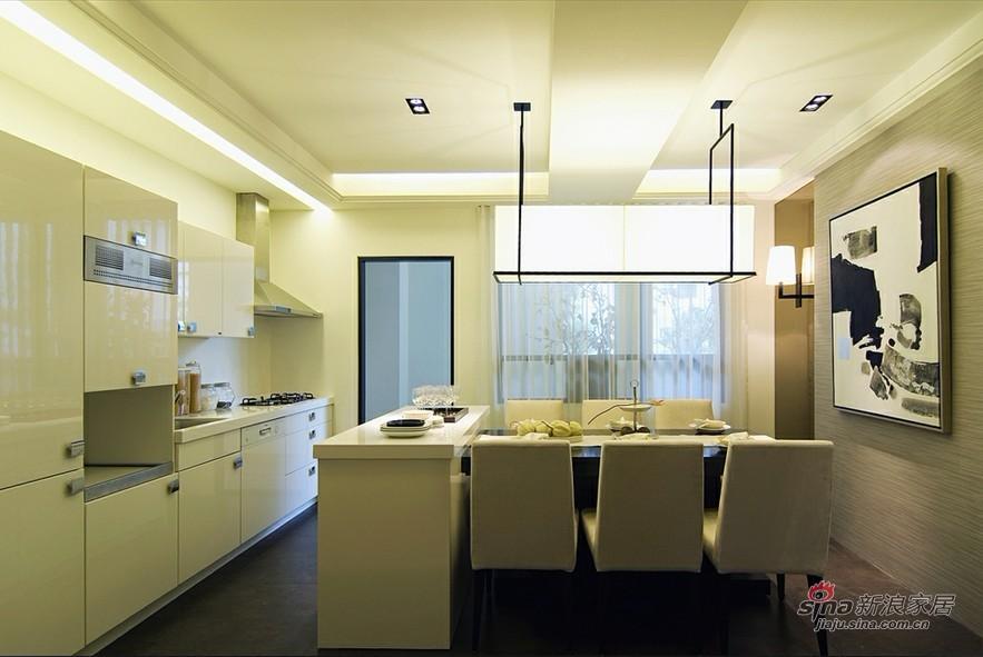 简约 三居 厨房图片来自用户2738829145在6.8万装117平静谧简约3居87的分享