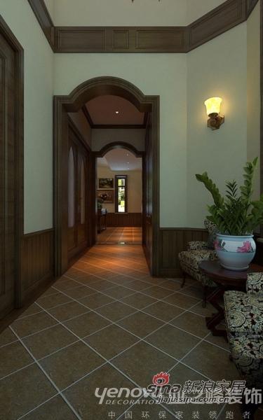 美式 别墅 玄关图片来自用户1907686233在美式怀旧 红磡领世郡别墅92的分享