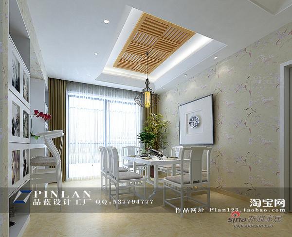 现代中式风格餐厅设计