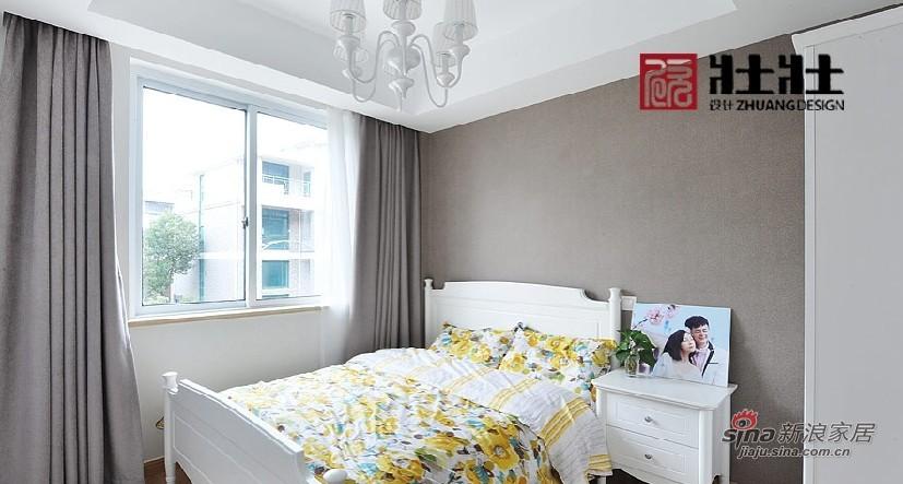 简约 四居 卧室图片来自用户2738820801在半包160㎡现代简约公寓房16的分享