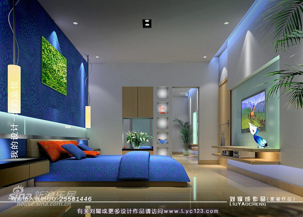 简约 三居 卧室图片来自用户2738820801在蓝色诱惑--《清凉一夏》68的分享