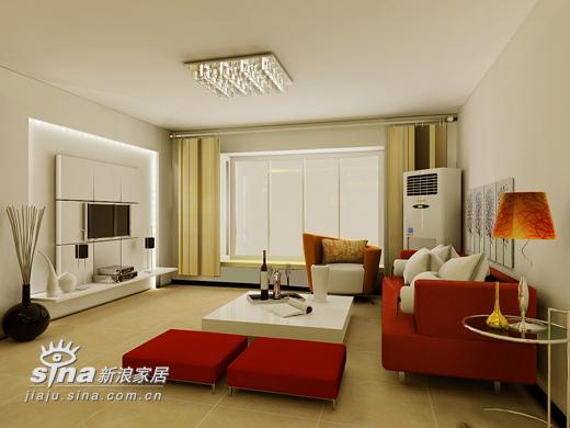 简约 二居 客厅图片来自用户2739153147在鼎立水岸别样设计22的分享