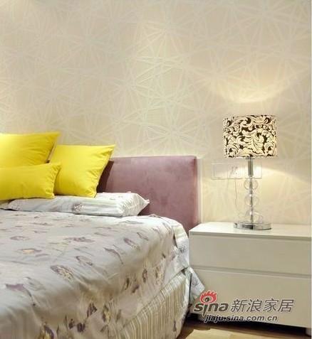 简约 二居 卧室图片来自用户2737735823在中年男7万自装完美2居房89的分享