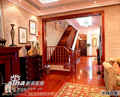 其他 别墅 楼梯图片来自用户2558746857在成都水岸府邸原乡连排別墅80的分享