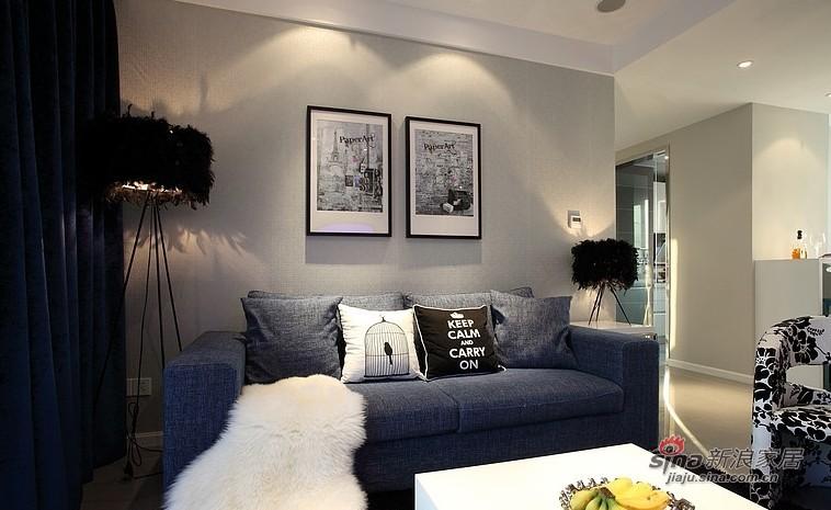 欧式 二居 客厅图片来自用户2745758987在小萝莉和大叔的85平甜蜜爱巢51的分享