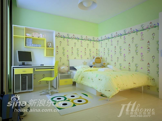 简约 三居 儿童房图片来自用户2737782783在简艺乐馨的家居风格70的分享